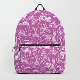 Arabian Nights // Fuchsia Backpack