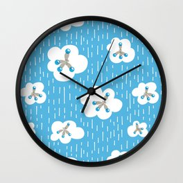 Methane Molecules And The Greenhouse Effect Wall Clock