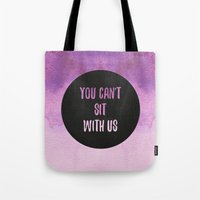 mean girls Tote Bags featuring Mean Girls by Lonely Pluto