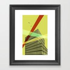 Ryerson University Library  Framed Art Print