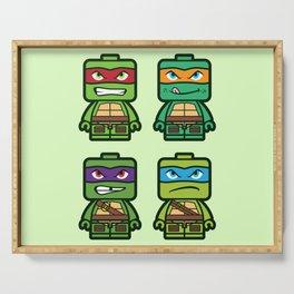 Chibi Ninja Turtles Serving Tray