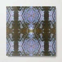 Kaleidoscope - Pond Reflections Metal Print