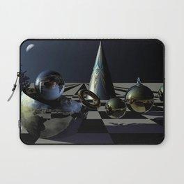 A magical Christmas Night, digital 3D art Laptop Sleeve