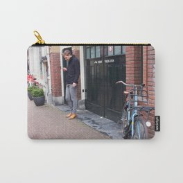 Amsterdam streetscene 2 Carry-All Pouch