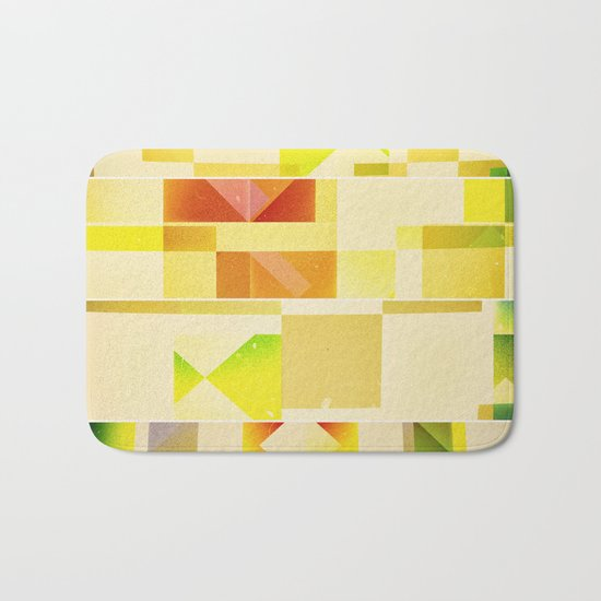 Deep Nature's Forlorn Cubic Dream Bath Mat