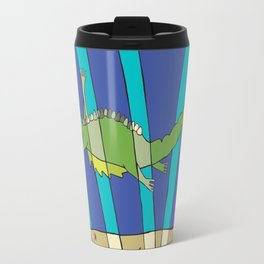 little Leviathan from Job 41: God plays with him as with a bird Travel Mug