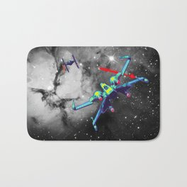 Pop X-Wing and Tie Fighter Bath Mat