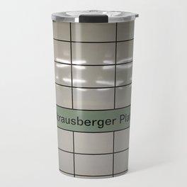 Strausberger Platz - Berlin Travel Mug
