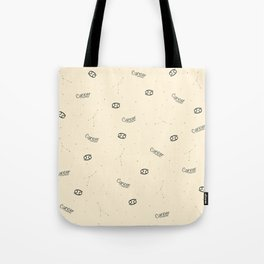 Cancer Pattern - Beige Tote Bag