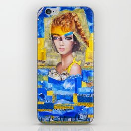 The Sea, my pool iPhone Skin