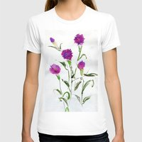 freud T-shirts featuring You Know What Freud Said About Carnations by Kate Havekost Fine Art