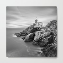 The Baily Lighthouse - Ireland  (RR112) Metal Print
