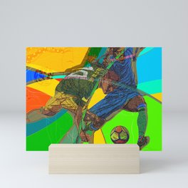 Soccer Party Mini Art Print