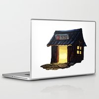 animal crossing Laptop & iPad Skins featuring Animal Crossing: Nooks Cranny by Makar Deku