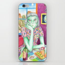 Angel / Alien iPhone Skin