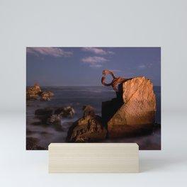 art sea Mini Art Print