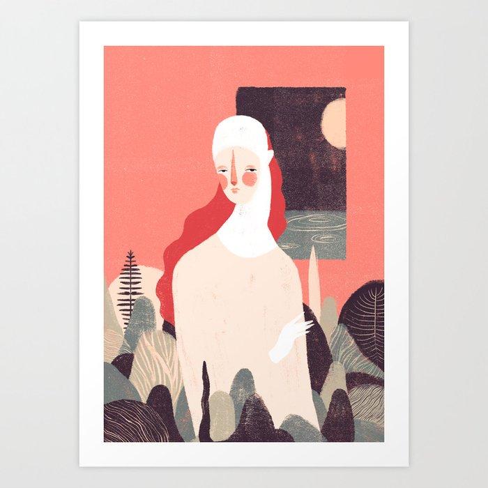 Zabelê II Art Print