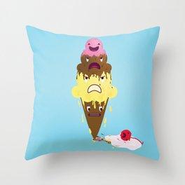 Cherry Dead Throw Pillow