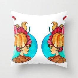 Madam Throw Pillow