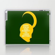 Keep Calm and Submit Laptop & iPad Skin