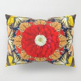 Persian carpet butterflies Pillow Sham