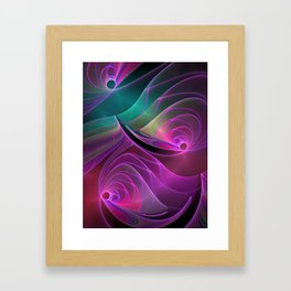 fractal design -22- Framed Art Print