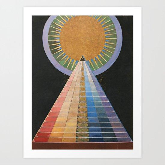 Altarpiece No. 1 Group X Hilma Af Klint 1915 by colorfuldesigns