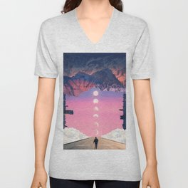 LOST // TRAPPED IN MY MIND Unisex V-Neck
