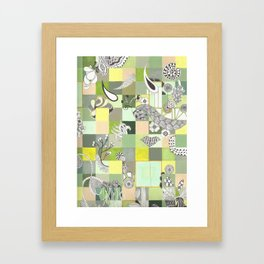 Botanist Boundaries no.2 Framed Art Print