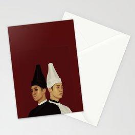 黑白无常 | Hei Bai Wu Chang | Black and White Impermanence Stationery Cards