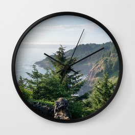 Cape Foulweather Vantage Point Wall Clock
