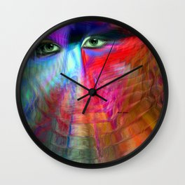 I Am Right Here For You Wall Clock