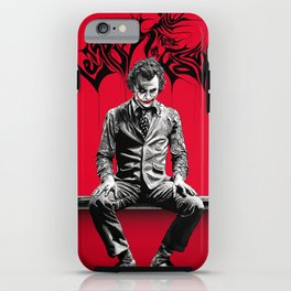 JOKER poster iPhone Case