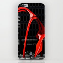 Red Flamingo iPhone Skin