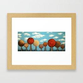 Dream grove Framed Art Print