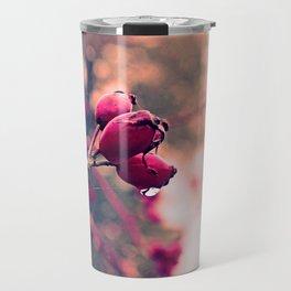 Berrys in the November rain Travel Mug