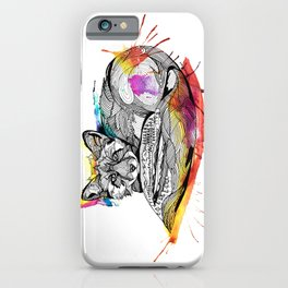 Watercolor Fox  iPhone Case