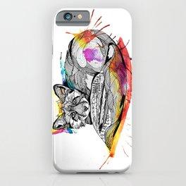 Watercolor Fox  iPhone Case