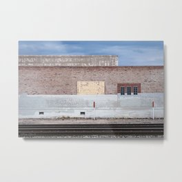 The Railroad Yard - Suicide Alley Metal Print