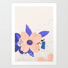 Love the moment Art Print