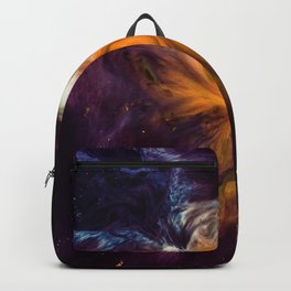 Before Time Paint Galaxy (Color) Backpack