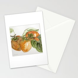 Persimmons on a Branch Stationery Cards