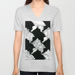 Tessellations I Unisex V-Neck