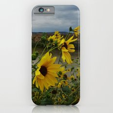 Yellow Flowers Before the Storm iPhone 6s Slim Case