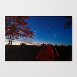 Roadtrip Camping Canvas Print