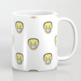Angry Emoji Graphic Pattern Coffee Mug