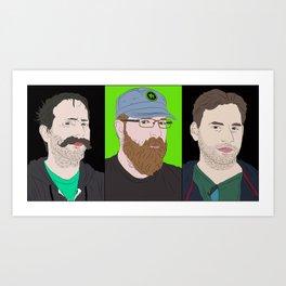 Achievement hunter's gents Art Print