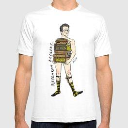 "Rupert ""Research"" Giles Pin up T-shirt"