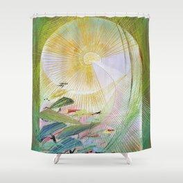 12,000pixel-500dpi - Japanese modern interior art #61A Shower Curtain
