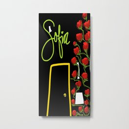 Sofia Rose Metal Print